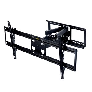 MegaMounts Full Motion Wall TV Mount for TVs up to 65-in (Hardware Included)