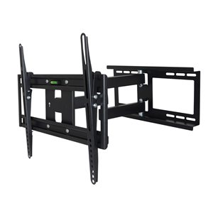 MegaMounts Fixed Black Wall TV Mount for TVs up to 55-in (Hardware Included)