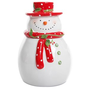 Gibson Home White Snowman Tabletop Decoration