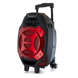 Befree Sound 8-in 400-Watt Portable Speaker