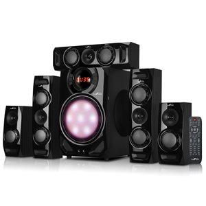 beFree Sound 5.1 Channel Bluetooth Speaker System