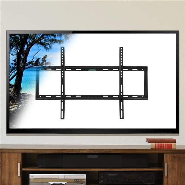 MegaMounts Fixed Wall TV Mount for TVs up to 70-in (Hardware Included)