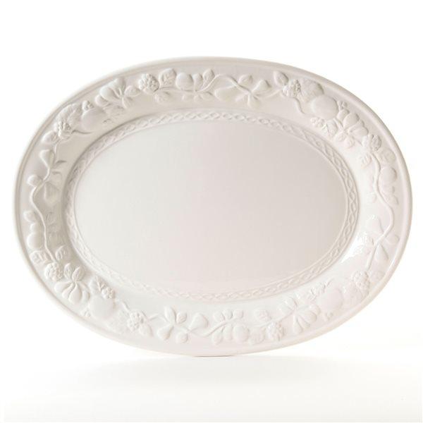 Gibson Home Fruitful Oval Platter