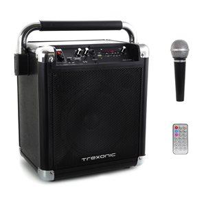 Trexonic 14-in 12-Watt Portable Speaker