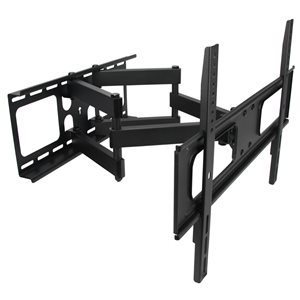 MegaMounts Full Motion Wall TV Mount for TVs up to 70-in (Hardware Included)