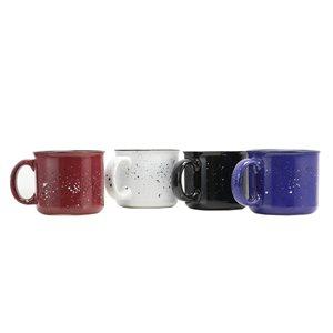 Gibson Home Altaic 17 oz. Speckle Glaze Mug - Set of 4