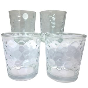 Gibson Home Foundations 4-Piece 13 oz. Double Old Fashioned Glass Set