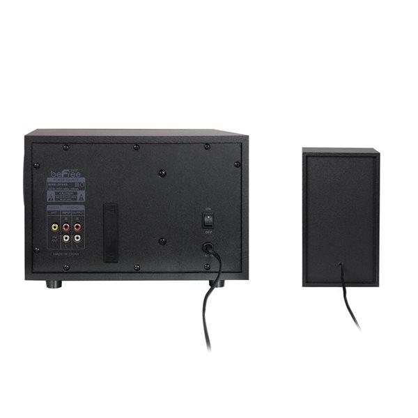 beFree Sound 2.1 Channel Surround Sound Speaker - 2-Speaker