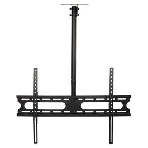 MegaMounts Tilt Ceiling TV Mount for TVs up to 70-in (Hardware Included) - Black