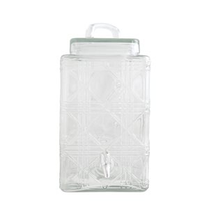 Gibson Home Jewelite Clear Glass 7.5 L Drink Dispenser