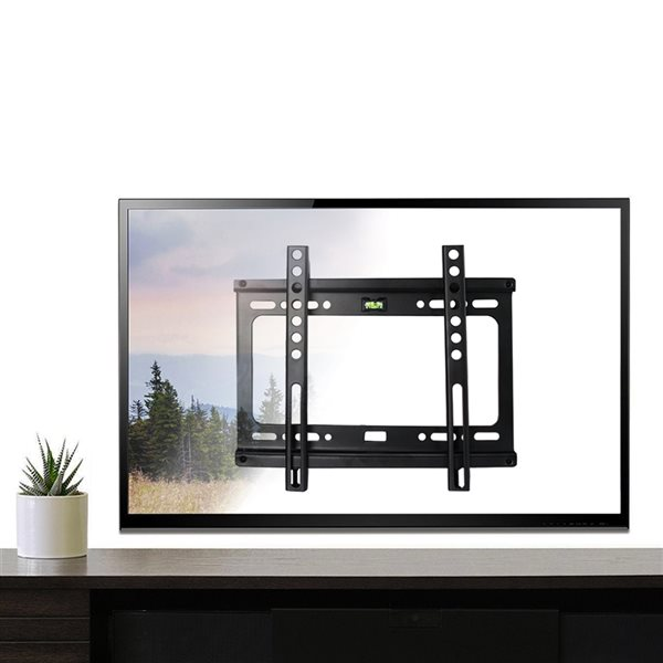 MegaMounts Fixed Wall TV Mount for TVs up to 42-in (Hardware Included)