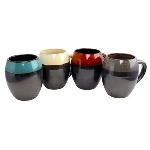 Gibson Home Soroca 19.5 oz Mug Set - Set of 4