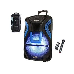 Befree Sound 15-in 2500-Watt Portable Speaker