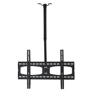 MegaMounts Tilt Wall Black TV Mount for TVs up to 70-in (Hardware Included)