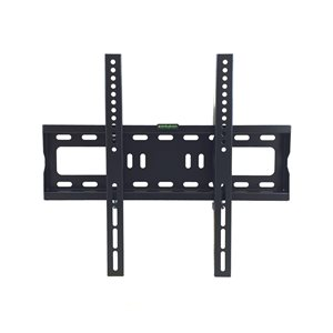 MegaMounts Black Fixed Wall TV Mount for TVs up to 55-in (Hardware Included)