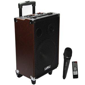 Befree Sound 10-in 400-Watt Portable Speaker