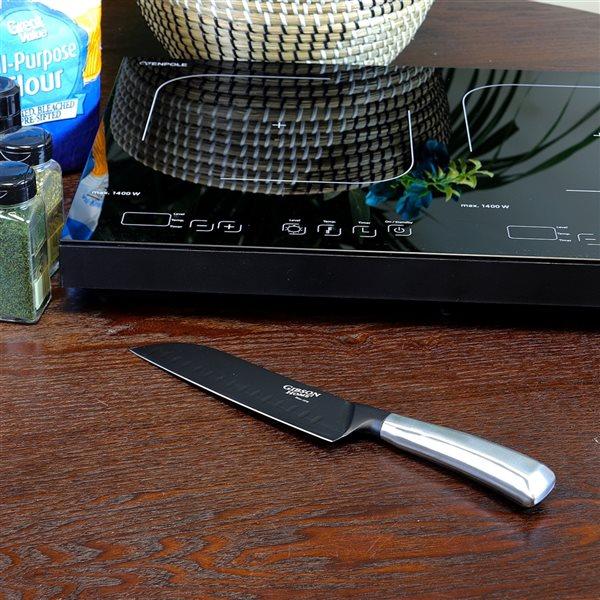 Gibson Home Stainless Steel Santoku Knife 1-Piece