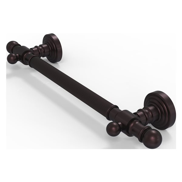 Allied Brass Waverly Place36-in Antique Bronze Wall Mount (ADA Compliant) Grab Bar