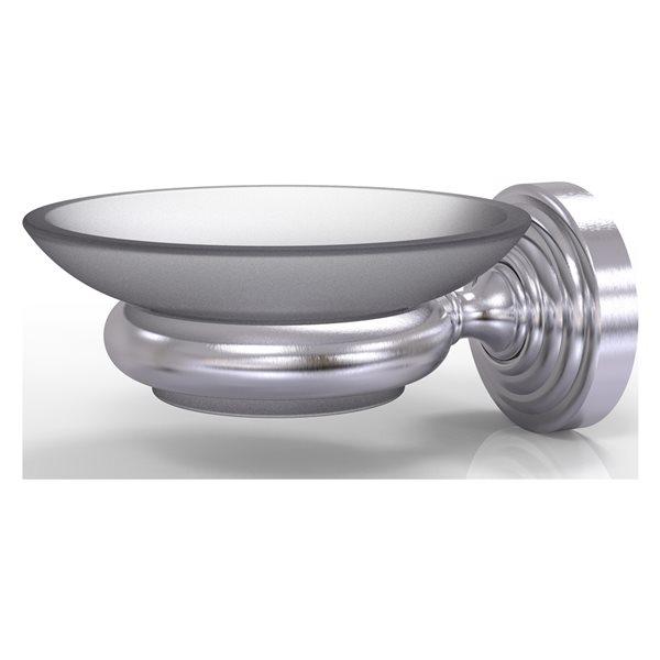 Allied Brass Waverly Place Satin Chrome Brass Soap Dish
