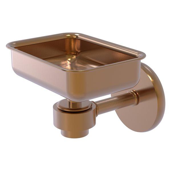 Allied Brass Satellite Orbit One Wall Mount Brushed Bronze Brass Soap Dish