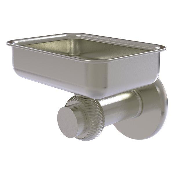 Allied Brass Mercury Satin Nickel Brass Soap Dish - Wall Mount Installation