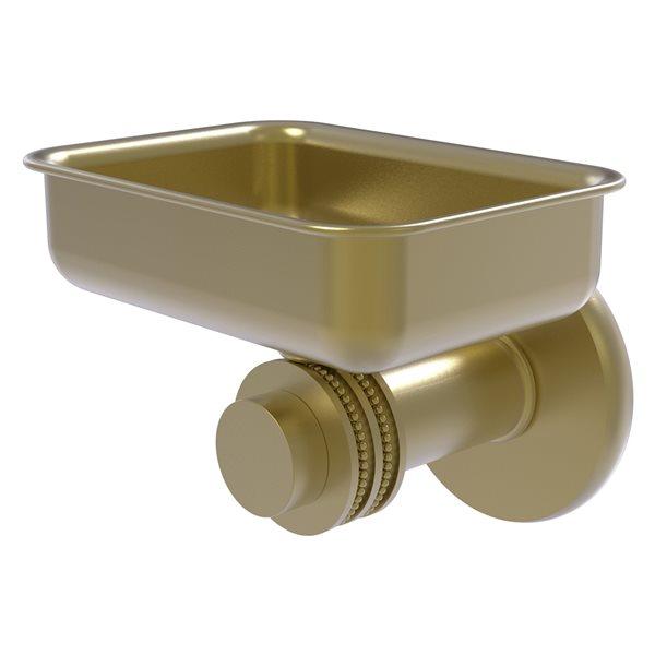 Allied Brass Mercury Satin Brass Soap Dish