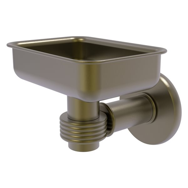 Allied Brass Continental Antique Brass Soap Dish