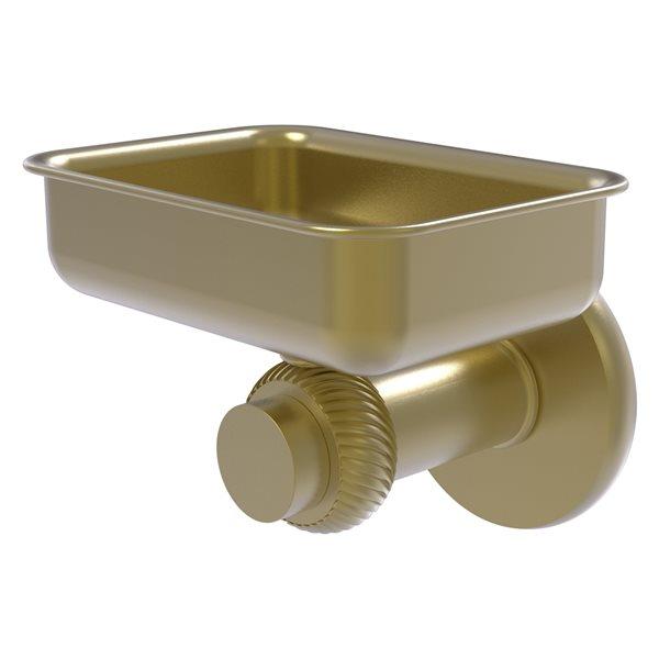 Allied Brass Mercury Satin Brass Soap Dish - Wall Mount Installation
