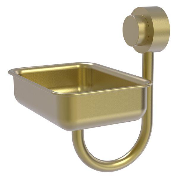 Allied Brass Venus Wall Mount Satin Brass Soap Dish