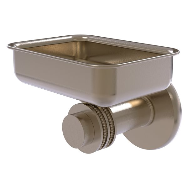 Allied Brass Mercury Antique Pewter Brass Soap Dish