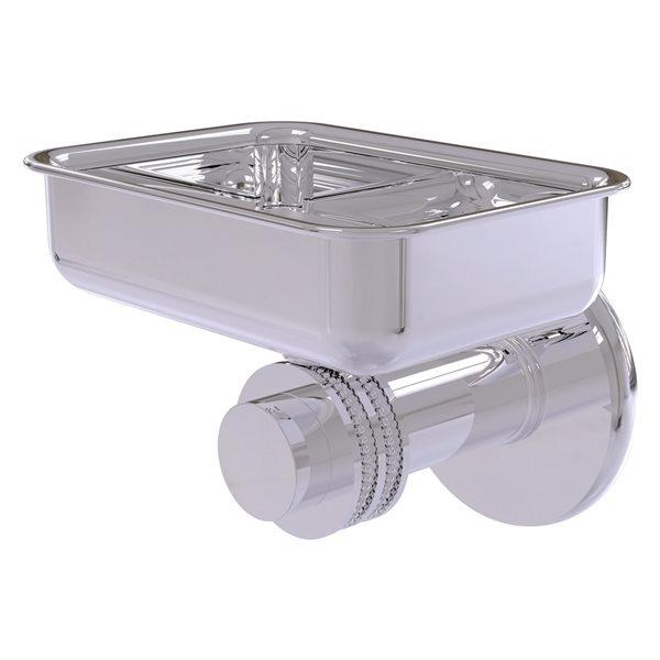 Allied Brass Mercury Polished Chrome Brass Soap Dish