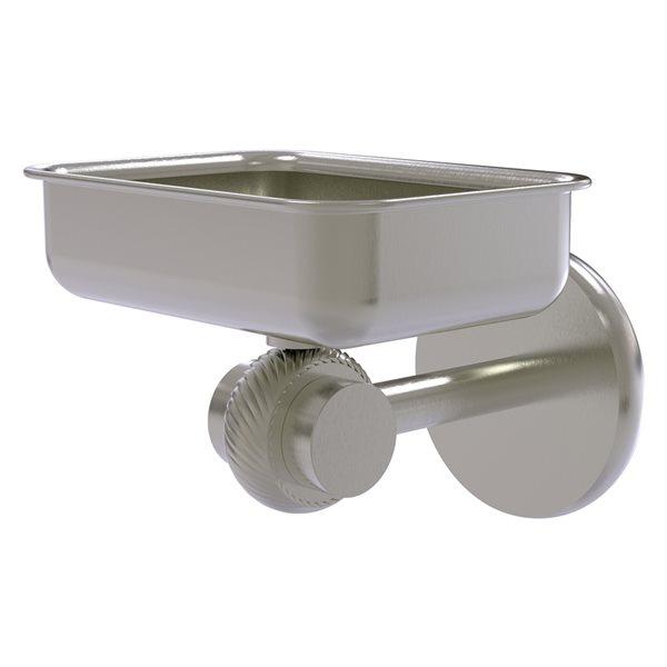Allied Brass Satellite Orbit Two Satin Nickel Brass Soap Dish