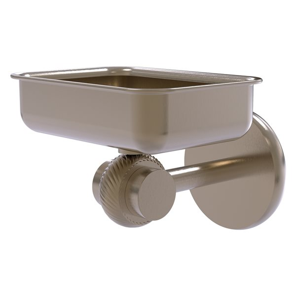 Allied Brass Satellite Orbit Two Antique Pewter Brass Soap Dish