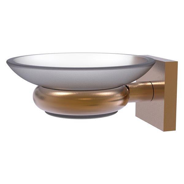 Allied Brass Montero Brushed Bronze Brass Soap Dish