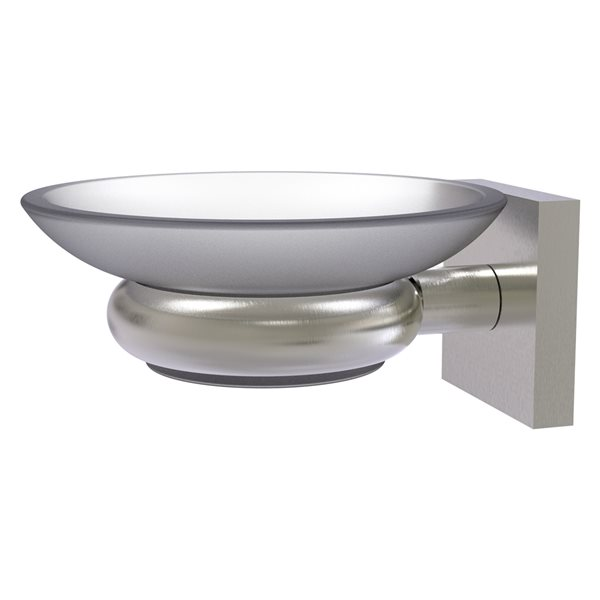 Allied Brass Montero Satin Nickel Brass Soap Dish