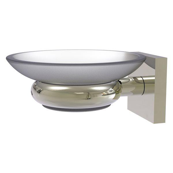 Allied Brass Montero Polished Nickel Brass Soap Dish