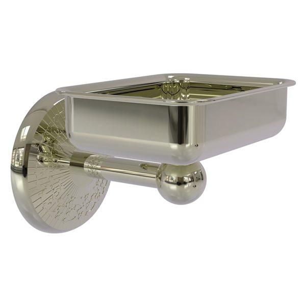 Allied Brass Monte Carlo Polished Nickel Brass Soap Dish