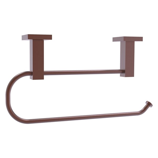 Allied Brass Montero Metal Mounted Antique Copper Paper Towel Holder