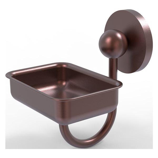 Allied Brass Prestige Skyline Antique Copper Brass Soap Dish