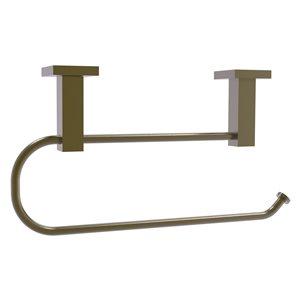 Allied Brass Montero Metal Mounted Antique Brass Paper Towel Holder