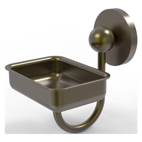 Allied Brass Prestige Skyline Antique Brass Soap Dish
