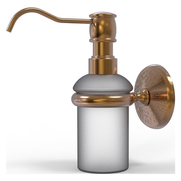 Allied Brass Monte Carlo Brushed Bronze Soap and Lotion Dispenser