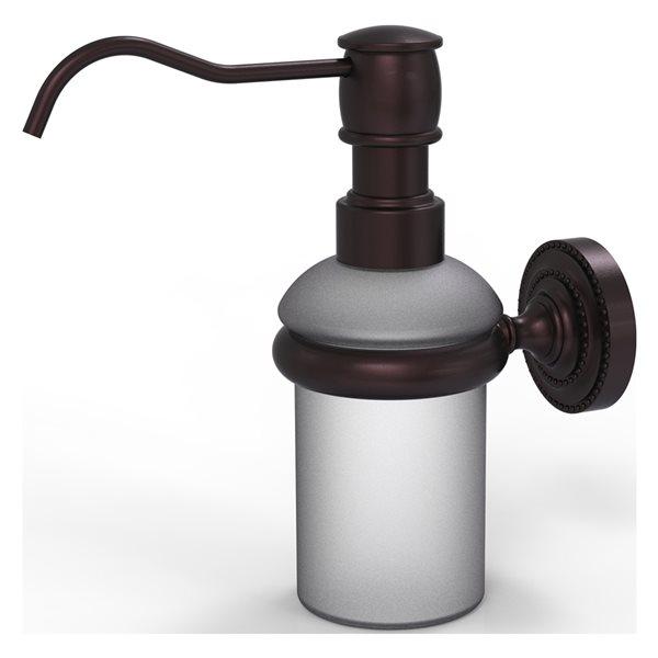 Allied Brass Dottingham Antique Bronze Soap and Lotion Dispenser