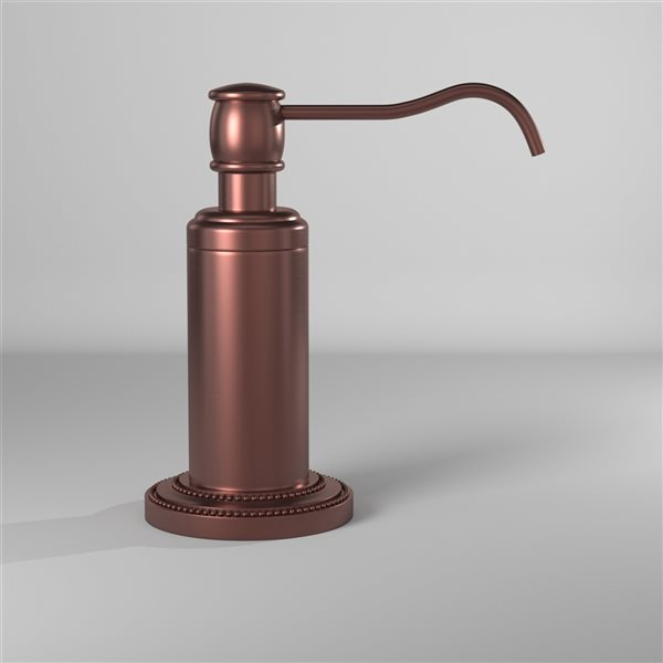 Allied Brass Dottingham Antique Copper Finish Soap and Lotion Dispenser