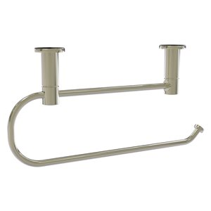 Allied Brass Wall Mounted Polished Nickel Metal Paper Towel Holder
