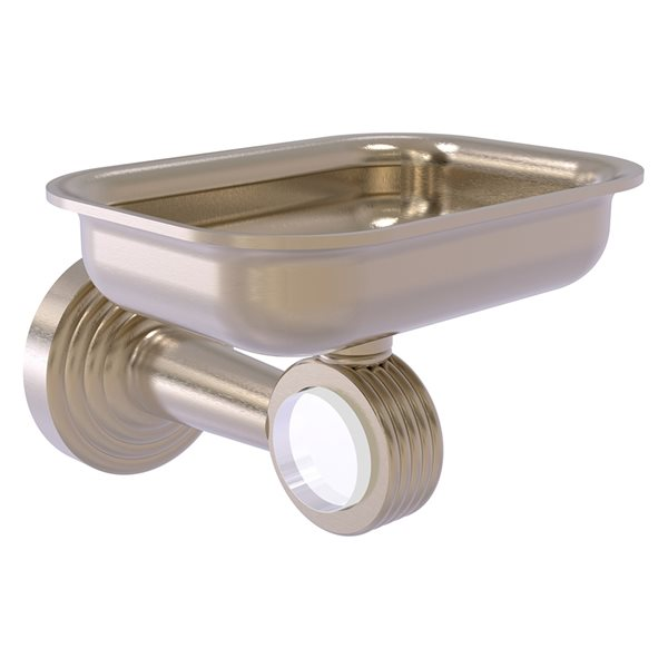 Allied Brass Pacific Beach Wall Mounted Antique Pewter Finish Brass Soap Dish