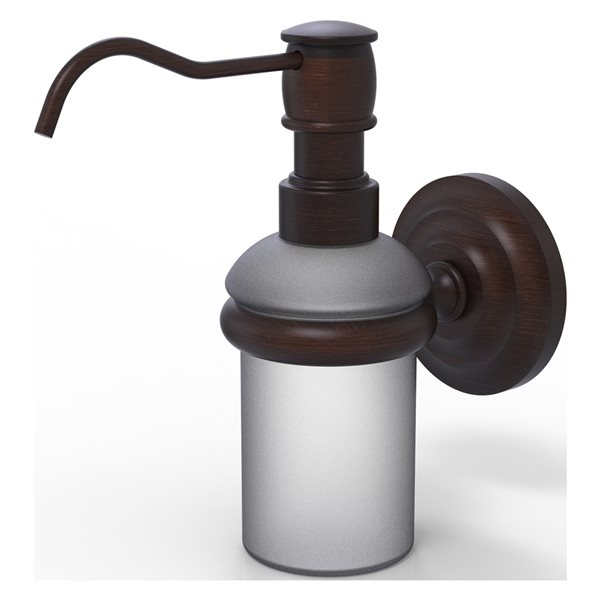 Allied Brass Prestige Que New Venetian Bronze Soap and Lotion Dispenser