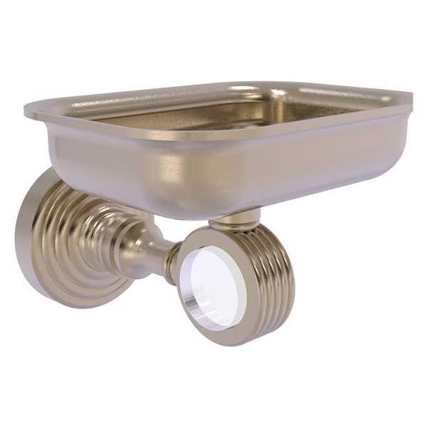Allied Brass Pacific Grove Wall Mounted Brass Soap Dish in Antique Pewter