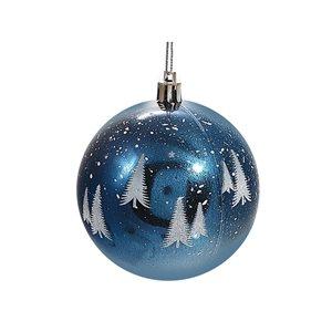 IH Casa Decor Blue Tree Ornament Set - 12-Pack