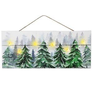 Décoration murale de Noël par IH Casa Decor de 7,9 po, vert